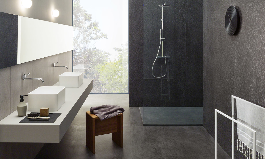 Lea Ceramiche Concreto Dark en Extra Light