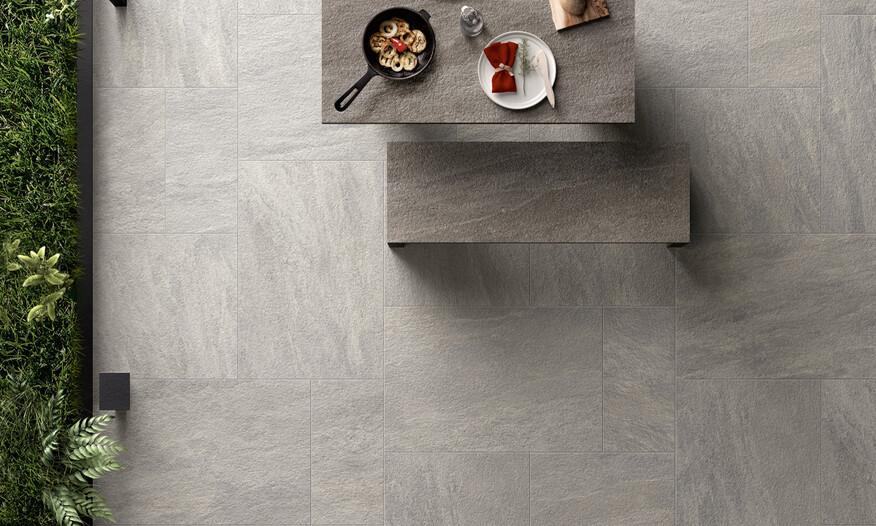 Novabell Norgestone Terrastegel Light-Grey Outdoor