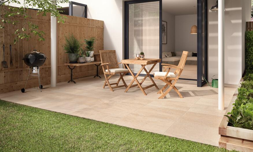 Villeroy & Boch Cadiz Outdoor 20 Sand Terrastegels