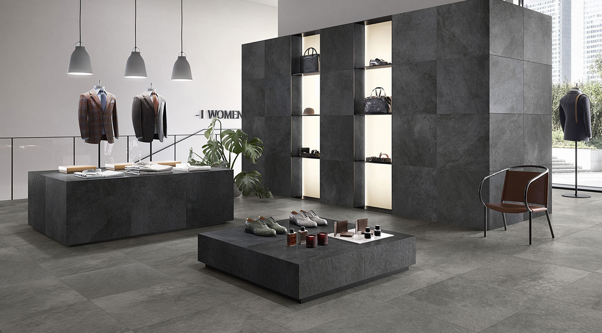 Villeroy & Boch Gateway 60x60 black & grey