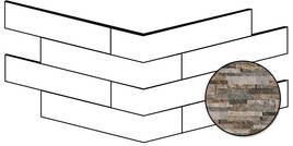 Novabell Brickup Quarzite Mix 16x40cm BKPA01