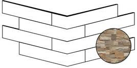 Novabell Brickup Light Wood 25x49cm BKPA22