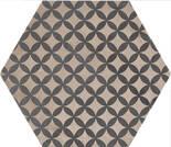 Marca Corona Terra Astro Esagona vers. F 21.6x25cm 0414