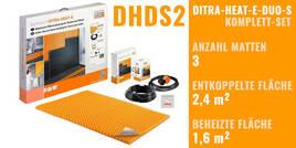 Schlüter DITRA-HEAT-E-DUO-S 0x0cm DHDS2